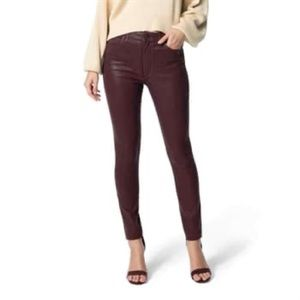 Lucky Brand Charlie Skinny Coated Jeans